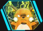 Raichu uses Thunder