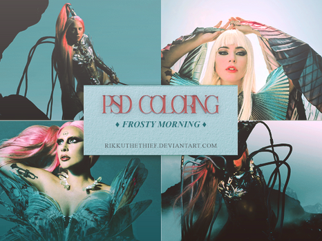 PSD Coloring - Frosty Morning