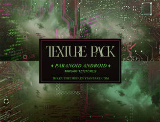 Textures Pack #7 -Paranoid Android- by Rikku