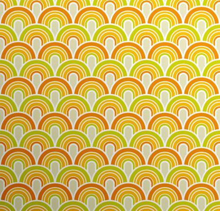 Fifties Wallpaper Pattern by AssEyeDee