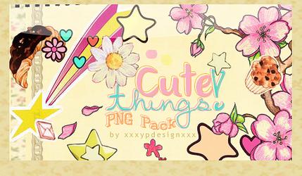 Cute Things -PNG Pack-