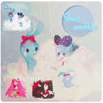 Sweet Snowflakes -PSD Coloring-