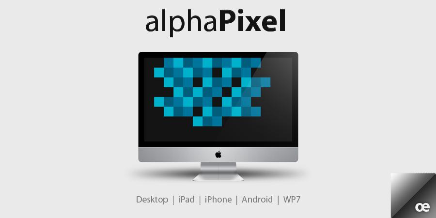 alphaPixel by jakeroot