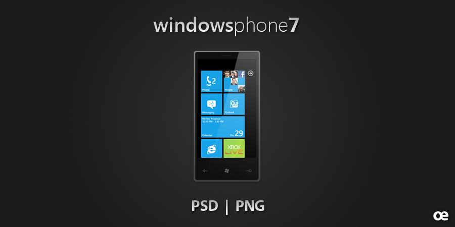 Windows Phone 7 by jakeroot