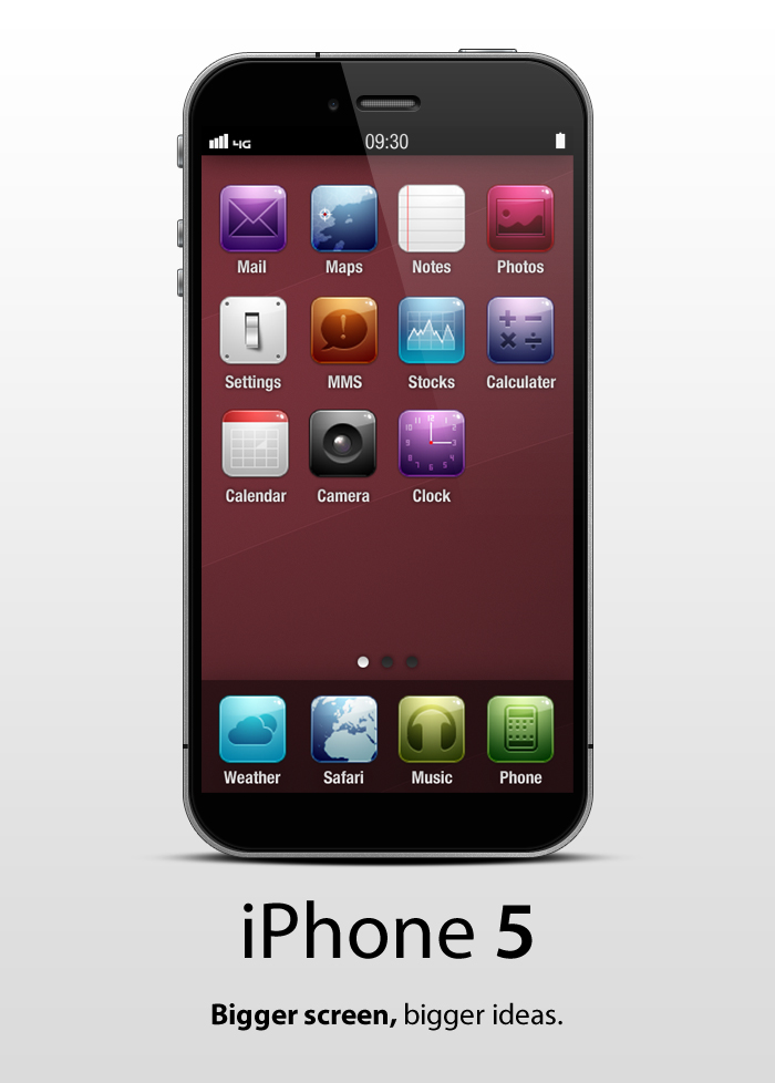 iPhone 5 - No more home button
