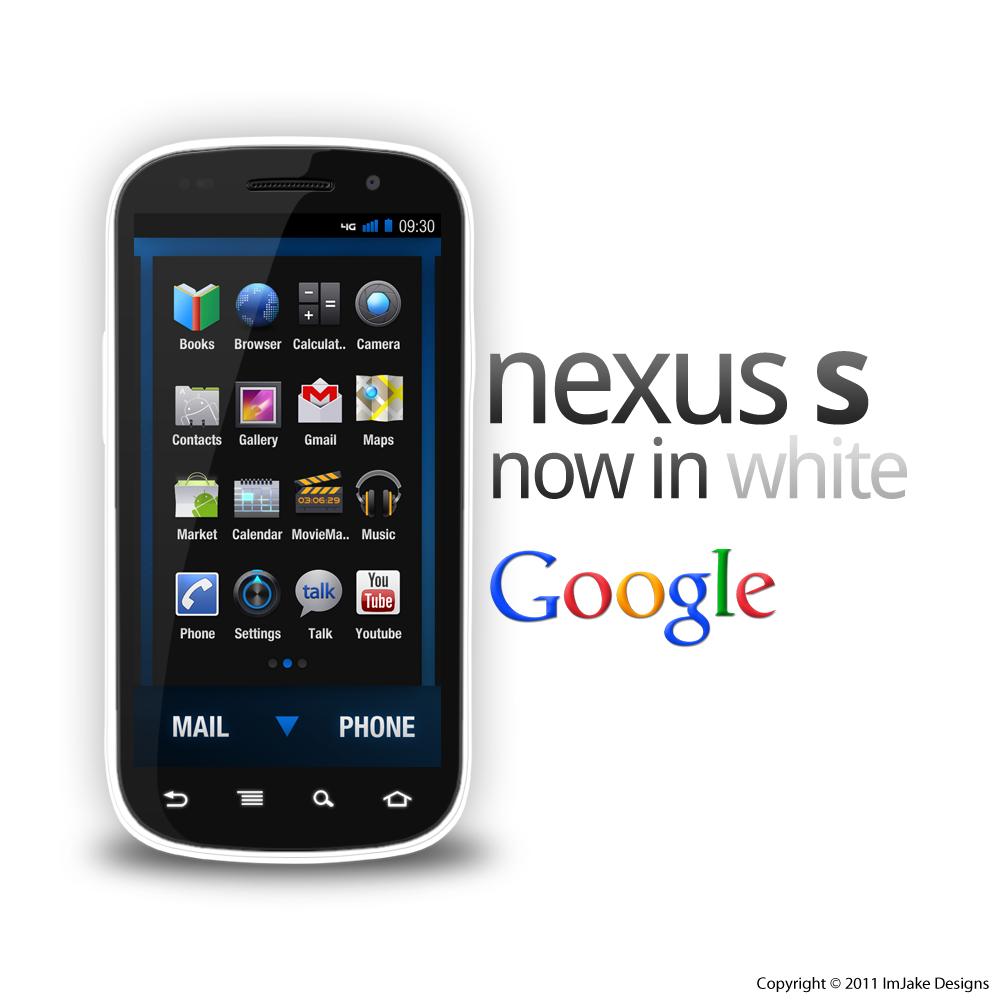 Samsung Nexus S in White