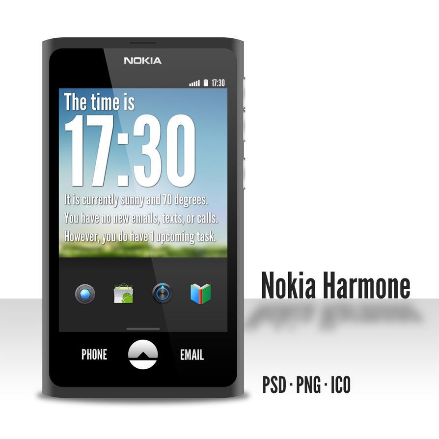 1791a3c4e Nokia Harmone by jakeroot on DeviantArt