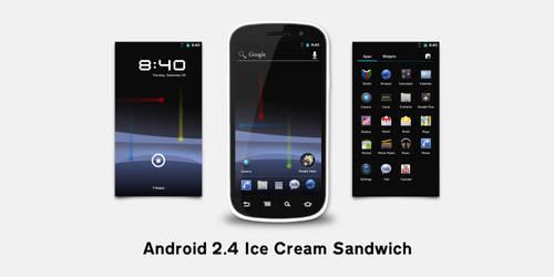 Android 2.4 Ice Cream Sandwich