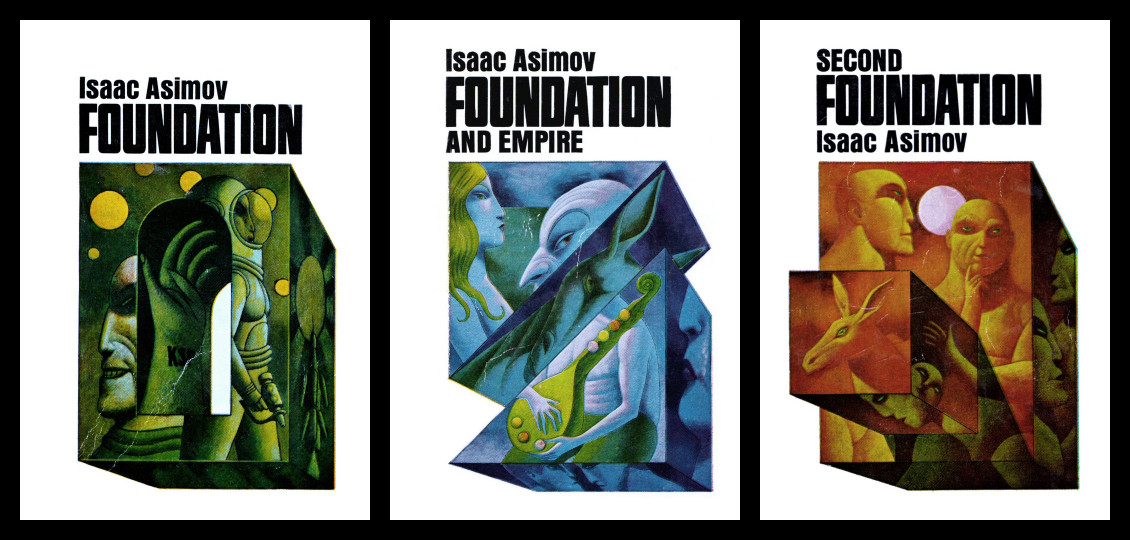 science fiction and isaac asimovs foundation Science fiction is one of those home / culture / book bash / 7 reasons why isaac asimov is the greatest science fiction his most famous are foundation.