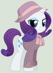 Rarity, mare of the Ministry of Image