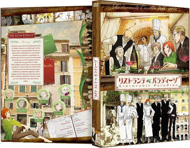 Anime DVD: Ristorante Paradiso by x-Lirie-x