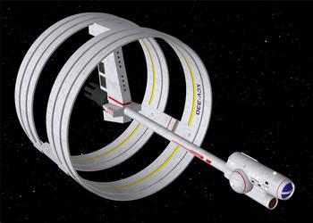 David Metlesits Declaration class starship (OBJ) by AntonioCC