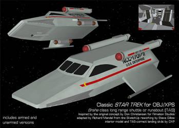 Digital Explorations Brahe class Shuttle (OBJ) by AntonioCC