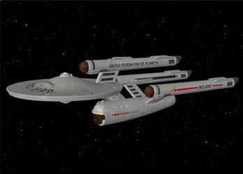 Dave Metlesits Federation Class Dreadnought (OBJ) by AntonioCC