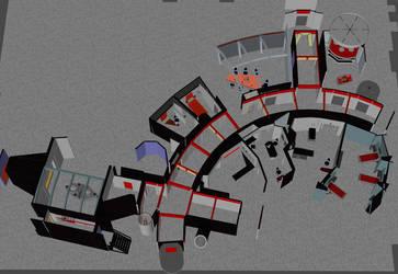 Digital Exploration Basic TOS shipboard sets (OBJ) by AntonioCC
