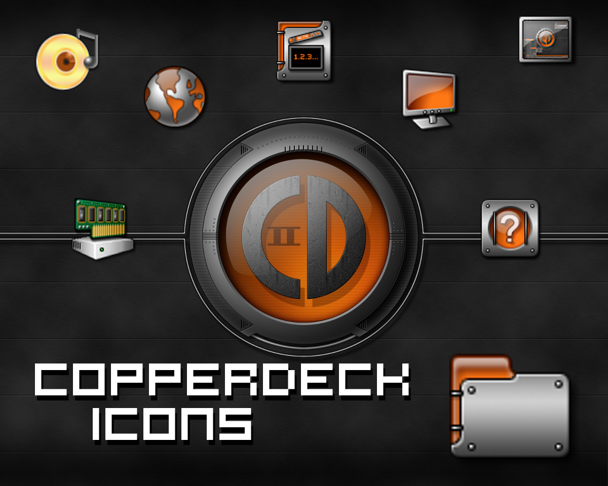 CopperDeck Icons by Jameshardy88