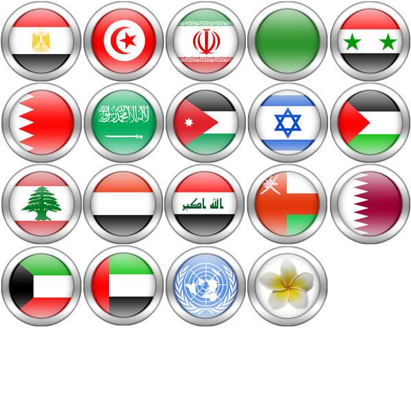 صور و تصاميم اعلام الدول العربية PSD