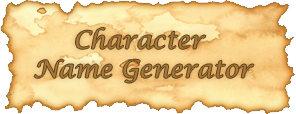 Character name generator by Elerd