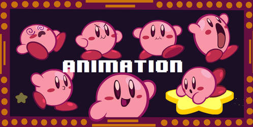 Lil' Kirby Animations