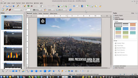 Libreoffice Impress Presentation Template