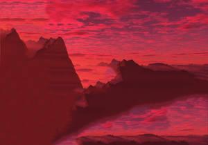 Pink Set Sun