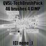 QVSL 46 Tech Brushes 4 GIMP