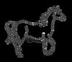 Arabian Piaffe Lineart [Free to Use]