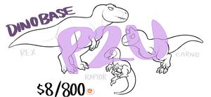 [P2U] Dinosaur Base!