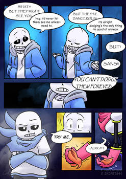 .: SwapOut : UT Comic [3-14] :. by ZKCats