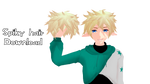 Spiky Shonen-y hair download by MissAbb