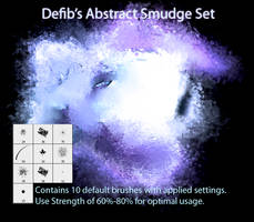 Abstract Smudge Set