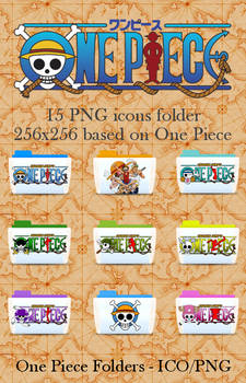 One Piece png icon folder