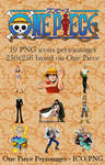 One Piece PNG icon personnages