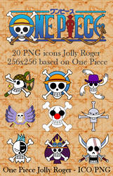 One Piece PNG icone Jolly Roger
