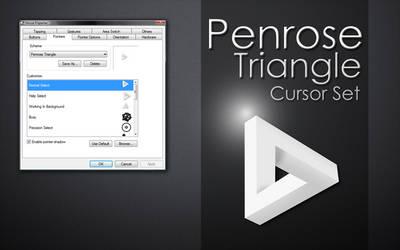 Penrose Triangle Cursor Set