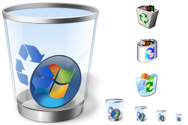 windows recycled icons by glestheartist on deviantart