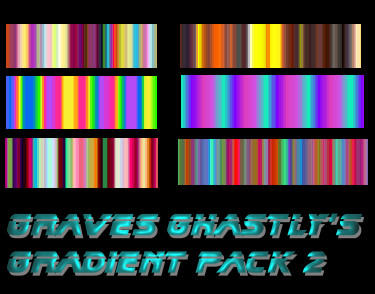 Ghastly's Gradient Pack 2 by GravesGhastly