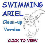 Swimming Ariel-Cleanup version