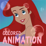 Colored Animation-Ariel