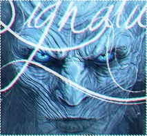 Game of Thrones - Night King Signature by OUTL4ST