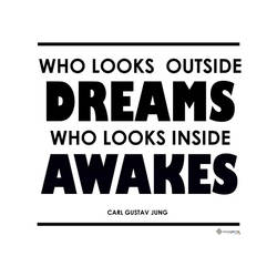 Who Looks Outside Dreams, Who Looks Inside Awakes by Oxxygene