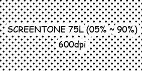 Reticula 75L - Screentone 75L by Netsubou
