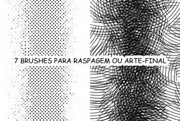 Brushes para raspagem by Netsubou