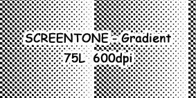 Reticula - Screentone Gradient by Netsubou