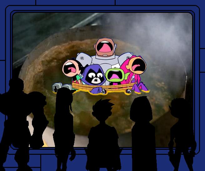Teen Titans Go Got Dipped By Metaknighthegreatest On -7618