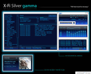 X-Fi Silver gamma