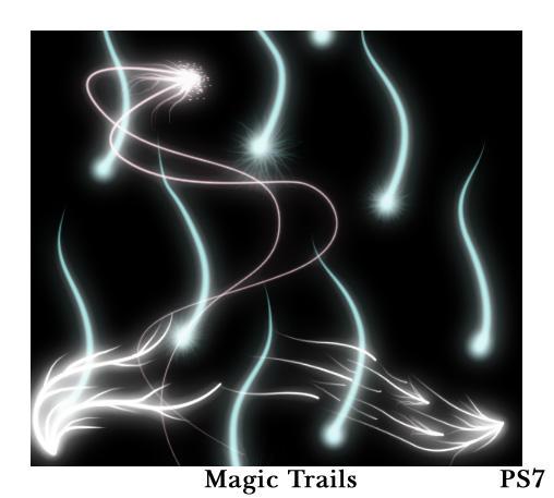 Magic Trails brushes