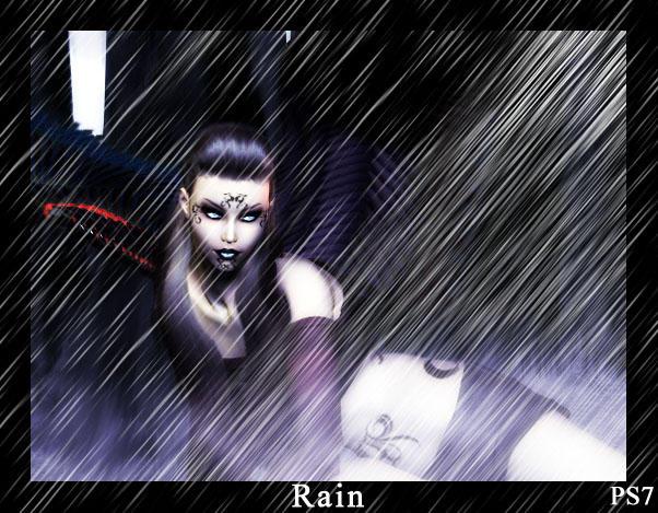 Rain Brushes by ElizavetBrushes
