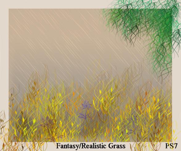 F-Grass brushes by ElizavetBrushes