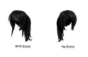 [MMD] TDA Short Ponytail Hair by NanamiHaruko